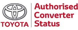 Logo-Toyota Authorised Converter
