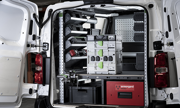 Efficient van storage - the next level