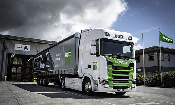 Bott commits to long-term partnership with Scania