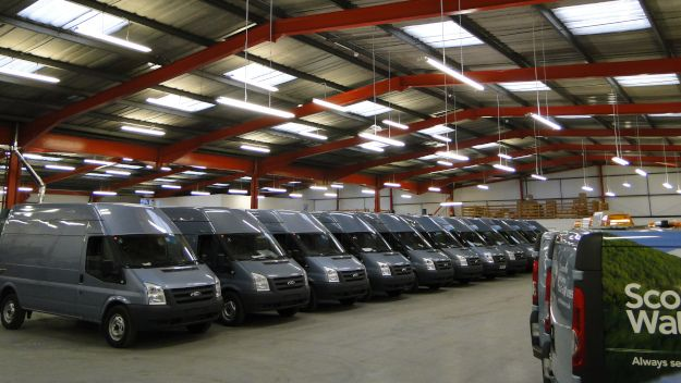 Van Racking and Specialist Vehicles (Sco & NI)